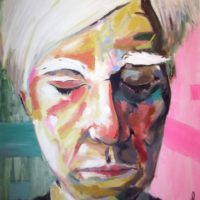 Andy Warhol 130x93 Acrilico 1200€