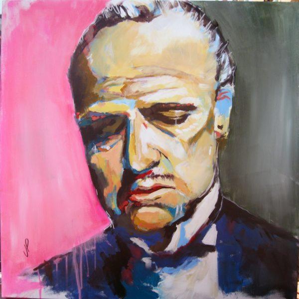 Corleone 80x80 Acrilico 1000€