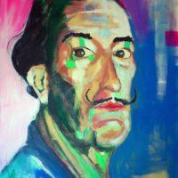 Dalí 130x93 Acrilico 1200€