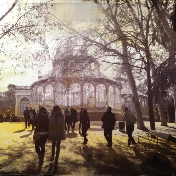 Imag12.Caminando hacia el Palacio de Cristal 170x140 4500€e-13