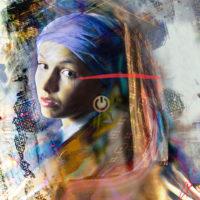 Marife Nunez - Estas on or off?-Fotografia con tecnica mixta -100x90cm - 4.900€
