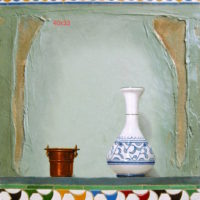 28-40 x 33 cm COBRE Y TARRO
