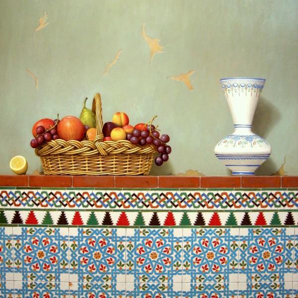 3-100X81 cesta con frutas y florero (1)