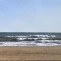 Eres de la mar. 27x81cm. 2100