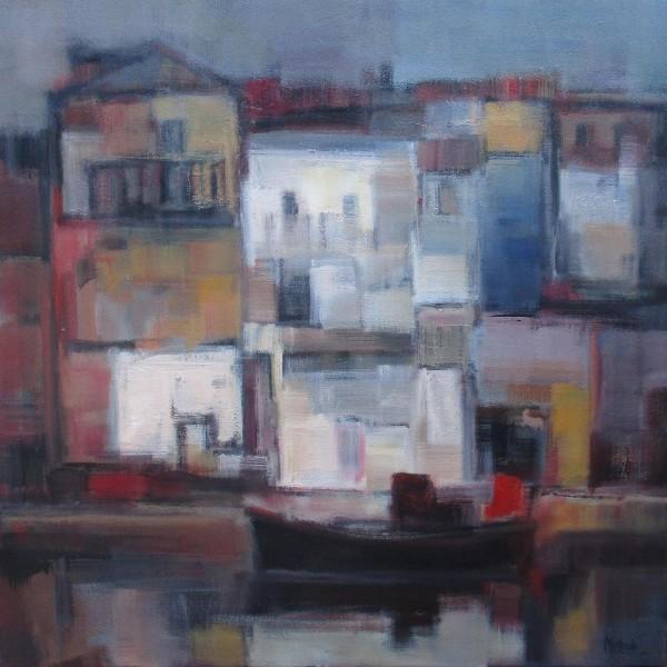 27 - Casas del puerto - 73 x 73