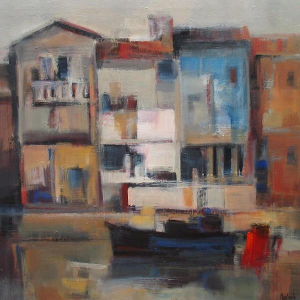 28 - Casas del puerto - casa azul - 73 x 73