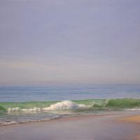 La playa por la manana (65x100 cm)
