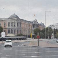 Biblioteca Nacional - Oleo sobre lienzo - 54 x 92 cm 3.300€