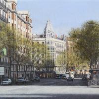Calle del Principe de Vergara, 46 x 73 cm 2.700€