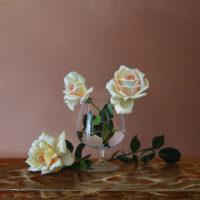 rosas sobre marmol 50x40 2500