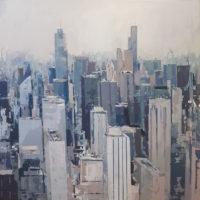 Chicago. Tecnica mixta sobre tela. 115x115 cm. 2250