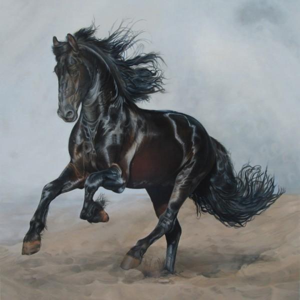 CABALLO CASTANO 120X105 cm 3000