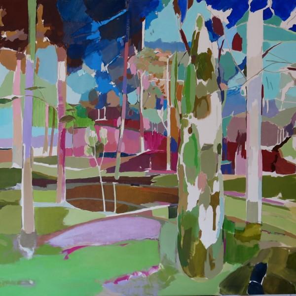 El ciprŽs del parque. 120 x 150, acrilico sobre lienzo copia 5000