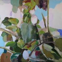 Frutos en Invierno II. 130 x 97 cm, acrilico lienzo 4500
