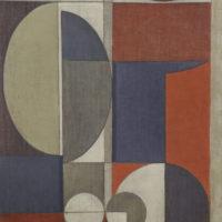 16. Composizione rosso-grigia (80 x 60) 2200