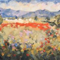 Colores de Mayo. 81 x 116 cm. Oleo Lino. 2018.