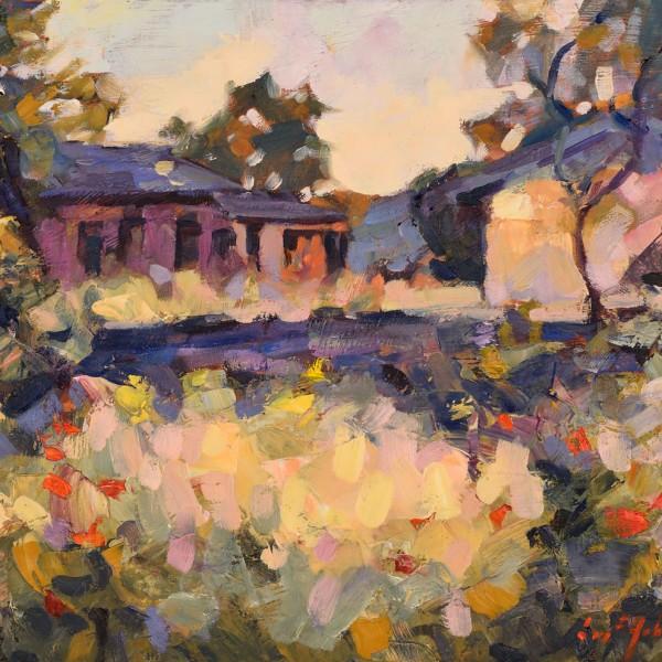 Rincon de Campillo. 38 x 46 cm. Oleo Lino. 2018.