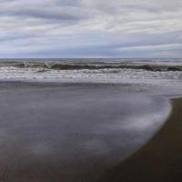 La orilla del mar. 73x60cm 2900