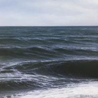 Mar de Alboran. 38x38cm 1300