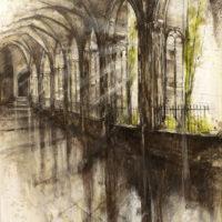 Catedral de Barcelona Mixta sobre lienzo 100x70 1700