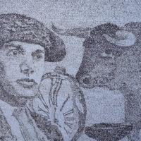 A LAS CINCO DE LA TARDE 2.6 (48 x 50)
