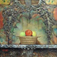 cesta manzanas 81x60cm 3800