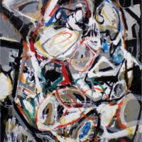 Abstraccion gestual III Mixta sobre tabla 150x120 3200