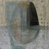 Habitante b VIII Acrilico sobre tela de algodon 72x50 1350