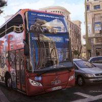 REFLEOS EN EL BUS TURISTICO 92X65