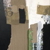 Ciclistas en Colonia I Mixta 140x100 2000