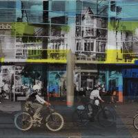 Reflejos en la ciudad Mixta 48x133 1500