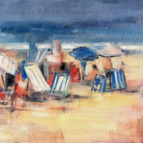 15 - A la orilla del mar 73 x 60