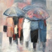 20 - Bajo la lluvia 92 x 92