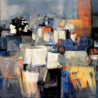85 - Bodegon (camino a la abstraccion) 146 x 114