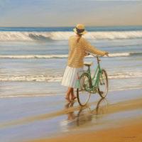 Bicicleta oleo sobre lienzo 120x120 10000