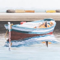 Barca II acuarela 35x50 850