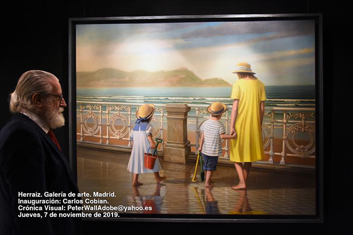 #fotografo #documentalista #WallArt #CrónicaVisual #PeterWallArt #PeterWallArt@gmail.com #PeterWallAdobe@yahoo.es #Herraiz #Galeríadearte #Madrid #Inauguración #CarlosCobian #Jueves7denoviembrede2019