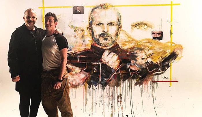 Jordi Machi y Miguel Bose